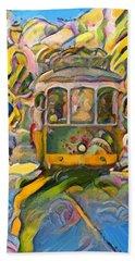 Street Car Lisbon Beach Sheet