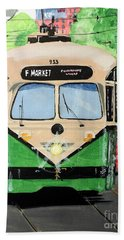 Streetcar Not Named Desire Beach Towel by Tom Riggs