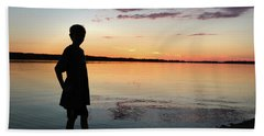 Beach Towel featuring the photograph Strength by Kelly Hazel