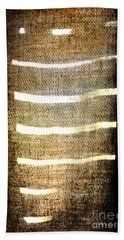 Stripes And Texture Beach Towel
