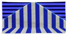 Beach Towel featuring the photograph Stripes by Paul Wear