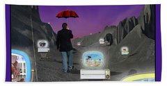 Beach Towel featuring the photograph Strolling Down Memory Lane by Mike McGlothlen