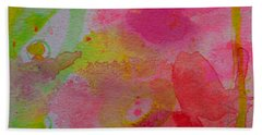 Beach Towel featuring the painting Stronger Every Day by Tracy Bonin