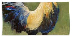 Strutting Rooster Beach Towel