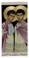 Sts. Sergius And Bacchus - Rlsab Beach Towel