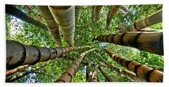 Stunning Bamboo Forest - Color Beach Sheet