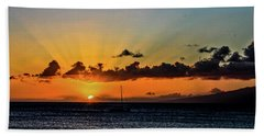 Stunning Sunset Beach Towel