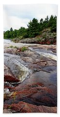 Sturgeon Chutes Xv Beach Towel