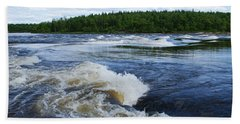 Sturgeon Falls Manitoba Beach Towel