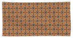 Stylish Moroccan Mosaic Beach Towel
