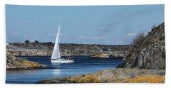 Styrso, Sweden Beach Towel