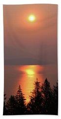 Sublime Sunrise Beach Towel