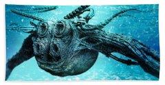 Submarine Beach Towel