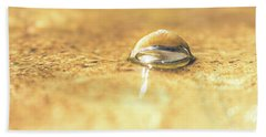 Submerged Snail Shell Beach Towel
