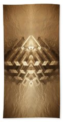 Subtle Geometrix Beach Towel