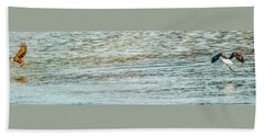 Successful Dynamic Duo Panoramic Beach Sheet by Jeff at JSJ Photography