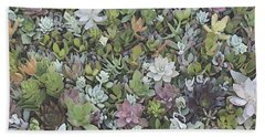 Succulent 8 Beach Sheet