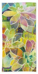 Succulent Mirage 1 Beach Towel