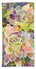 Succulent Mirage 2 Beach Towel