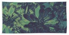 Succulents #2 Beach Towel