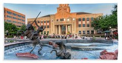 Sugar Land Town Center Beach Towel