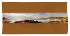 Sugarloaf Rock Panorama I Beach Towel