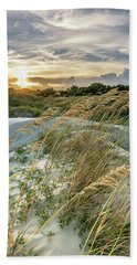 Beach Towel featuring the photograph Sullivan's Island Dunes by Donnie Whitaker