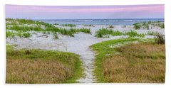 Beach Towel featuring the photograph Sullivan's Island Natural Beauty by Donnie Whitaker