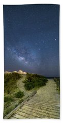 Sullivan's Island Nightscape Beach Towel