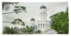 Sultan Abu Bakar Mosque Beach Towel