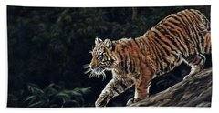 Sumatran Cub Beach Towel