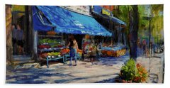 Summer Afternoon, Columbus Avenue Beach Towel