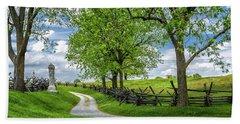 Beach Towel featuring the photograph Summer At Antietam National Battlefield by Lori Coleman