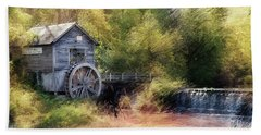 Beach Towel featuring the photograph Summer At The Mill by Andrea Platt