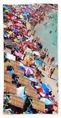 Beach Towel featuring the photograph Summer Beach by Beto Machado