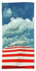 Summer Beach Sky Beach Sheet by Deborah Smith