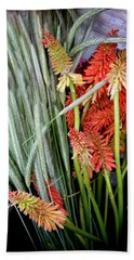 Beach Sheet featuring the photograph Summer Blooms by KG Thienemann