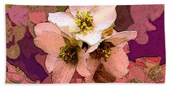 Summer Blossom Beach Towel