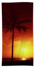 Summer By The Sea Beach Towel