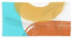 Summer Color 2- Art By Linda Woods Beach Towel