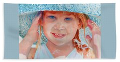 Summer Day Beach Towel