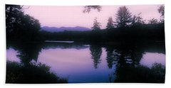 Beach Towel featuring the photograph Summer Evening In New Hampshire by Robin Regan