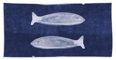 Summer Fish- Art By Linda Woods Beach Towel