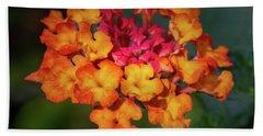 Summer Floral Colors Beach Sheet