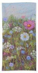 Summer Flowers Beach Sheet
