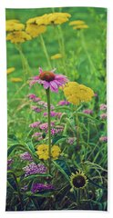 Summer Flowers Beach Sheet