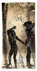 Summer Fun - D010122 Beach Towel by Daniel Dempster