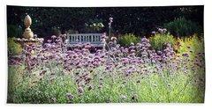 Beach Towel featuring the photograph Summer Garden II by Lauren Radke