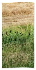 Summer Grasses -  Beach Towel