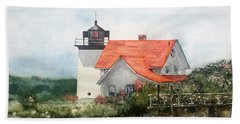 Summer In Maine Beach Towel